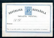 1874.ESPAÑA.REPUBLICA.ENTERO POSTAL.VARIEDAD.EDIFIL 3eb(*).NUEVO.CAT.140 €
