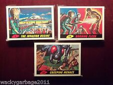 Topps Heritage MARS ATTACKS Mini Master Set - Base Set, Deleted, & New Universe