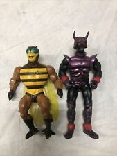 Vintage MOTU HE-Man figures lot Buzz Off And One Other Guy