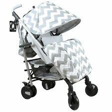 My Babiie Mb51 From Birth Baby Stroller / Pram - Billie Faiers Grey Chevron