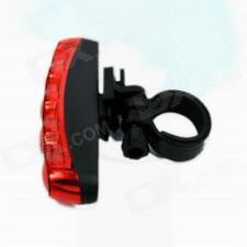 Auffallende Fahrrad Sicherheit hinten 5-LED-Licht FY-20118 (rot)