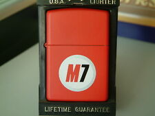 SUPER RARE MARLBORO M7 ZIPPO LIGHTER FROM 1998. BRAND NEW/UNUSED.