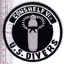 SCUBA Diving USA US Divers Aqua-Lung Conshelf VI Regulator Los Angeles, CA Patch