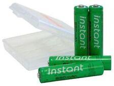 Instant Rechargable AAA Batteries, Always Ready
