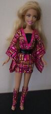"""10"""" Small 2007 Mattel Barbie Skipper Style Doll Dressed With Long Blond Hair"""