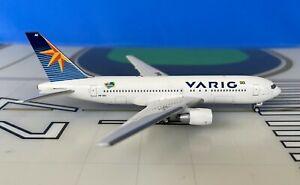 Varig Boeing 767-200 PP-VAC 2000's colors 1/400 scale diecast Aeroclassics