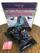 New listing ROLLERBLADE Vintage 90s Aeroblade Orange/Purple Mens Inline Skates US Size 8