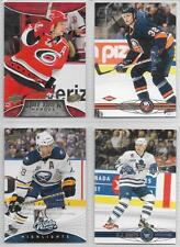 ERIC STAAL CAROLINA HURRICANES 2008-09 UPPER DECK #1 HAT TRICK HEROES #HT14