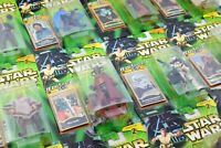 STAR WARS POWER OF THE JEDI CARDED FIGURES ALL MOC - SEE PHOTOS!