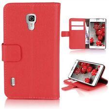 eSPee Funda Para Móvil para LG P710 Optimus L7 II Rojo