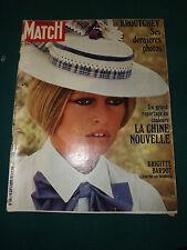 PARIS MATCH 1167 (09/1971) BRIGITTE BARDOT tourne un western KROUTCHEV ses derni