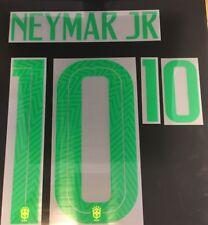 Neymar Junior Jr Brazil Home Adult Green Name Number 10 World Cup 2018