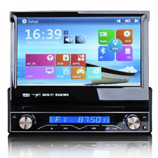 "7"" UNIVERSALE LETTORE CD DVD RADIO BLUETOOTH 3 G USB Navigatore Satellitare GPS Flip-out stereo auto"