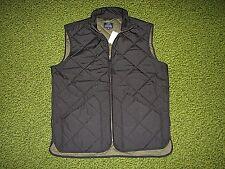 $150. Men's Black Quilted Vest (XXL) J. CREW