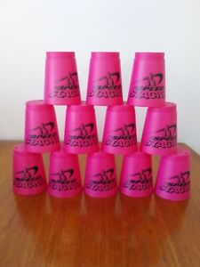 Wssa Speed stacks pink with unmarked bag and instructions