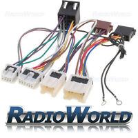 Radio Câble adaptateur pour NISSAN ALMERA PRIMERA MICRA TERRANO X-TRAIL NAVARA ISO
