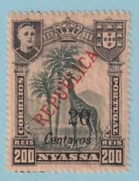 NYASSA 93  MINT NEVER HINGED OG ** NO FAULTS EXTRA FINE!