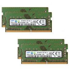 4pcs Samsung 8GB DDR4 PC4-2133P 2133Mhz 17000 1RX8 260Pin Laptop Memory @RY