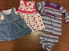 6-9 Month Baby Girl Dress Lot OshKosh Children's Place