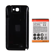 6500mAh Extended Battery + Back Case Cover for Samsung Galaxy note 2 II / N7100
