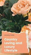 2020-2021 The Poetry of January Fieldz wall calendars