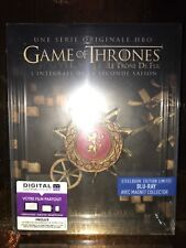 STEELBOOK Blu-ray Game Of Trônes S2