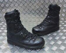 Genuine British Army Karrimor SF Cold Weather Goretex Black Combat Boots BLK1
