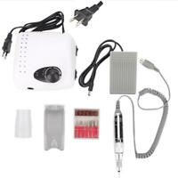 35000RPM Electric Nail Drill File Machine Professional Salon Nails Pedicure Kit