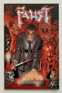 Faust Book of M #1 previews exclusive limited edition only 500 with COA. Avatar.