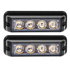 4 LED Super Bright Strobe Lights 12-24V High Power Car Truck Mist Fog Lights