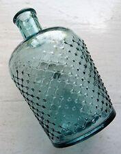 Medium size ice blue N.T.B.T. INTERNALLY Lysol poison/disinfectant bottle C1920s