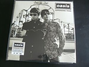 OASIS SUPERSONIC TRAIN LIVE BERKELEY THEATRE 1995 LIMITED EDITION LP