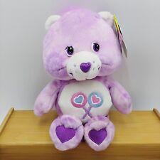 "Care Bears Share Bear Tye Dye Series 1 Special With Tags 2003 Play Along 8"""