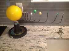 "Vintage Hubbard Scientific 19"" Arm Solar System Planetarium NICE SHAPE FREE SHIP"