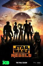 Star Wars Rebels poster  -  11 x 17 inches