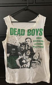 Vintage Dead Boys T-shirt 3rd Generation Nation M 70's/80's CLASSIC PUNK, CBGB