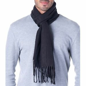 Hammer Anvil Mens Plaid Striped Scarf Womens Winter Scarves Cashmere Soft Feel