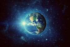 A1 | Planet Earth Poster Art Print 60 x 90cm 180gsm Space NASA Cool Gift #8544