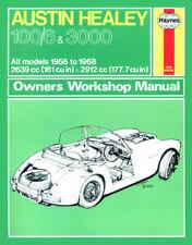 H0049 Austin Healey 100/6 & 3000 (1956 to 1968) Haynes Repair Manual