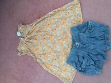 Next Girls Shorts and T-Shirt - Size 3-4 years