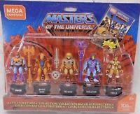 Mega Construx Masters of The Universe Set Of 5 Mini Figures Heman Skeletor