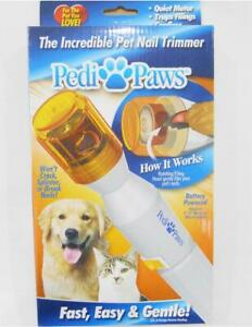 *New PEDI PAWS Pet DOG / CAT Toenails Claws Rotary Sander Trimmer Grooming Tool