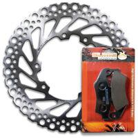 Galfer Front Honda Wave Brake Rotor Disc Pads CRF 450 R X 01 07 10 12 13 14