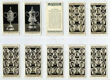 More details for full set, players, association cup winners 1930 vg+ (gb7799-100) f.a. cup