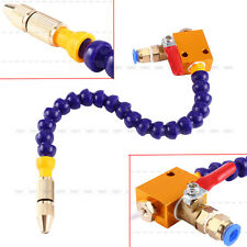 Mist Coolant Lubrication Spray System For 8mm Air Pipe CNC Lathe Mill Drill 2017