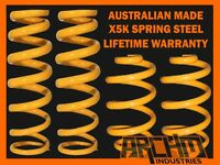 FRONT & REAR 30mm RAISED KING COIL SPRINGS FOR NISSAN XTRAIL T30 2001-2007