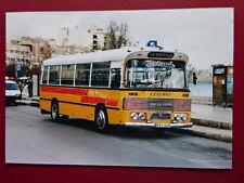 PHOTO  MALTA BUS LEYLAND BEDFORD REG FBY 669