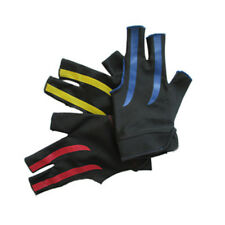 Universal Lycra Nylon 3 Fingers Billiard Gloves For Adults Pool Cue Snooker Cue