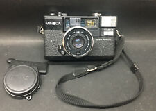 New ListingMinolta Hi-Matic Af2 35mm Point & Shoot Film Camera With Lens Cap Untested