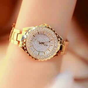 Fashion Bracelets Wrist Watches For Woman Ladies Silver Gold Gifts Luxury V5Y0